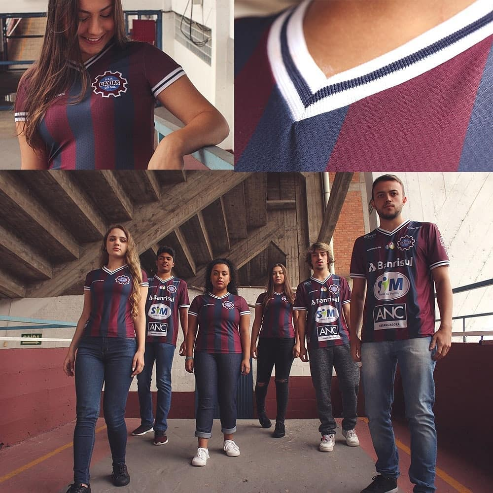 Terceira camisa do SER Caxias 2020-2021 Bravo35