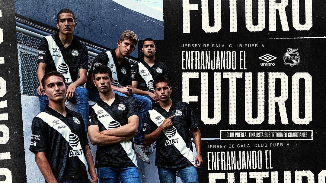 Terceira camisa do Club Puebla 2020-2021 Umbro