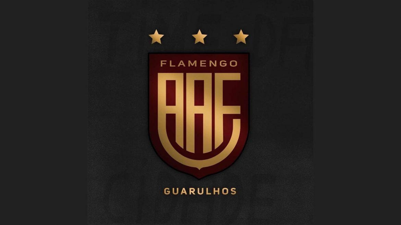AA Flamengo Guarulhos novo escudo 2021