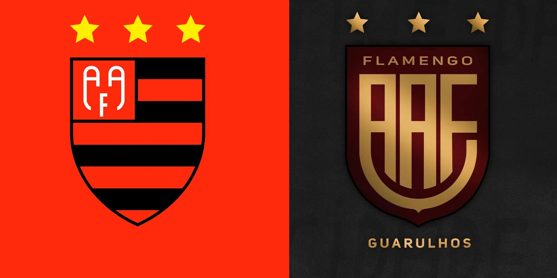 AA Flamengo Guarulhos novo escudo 2021 ad