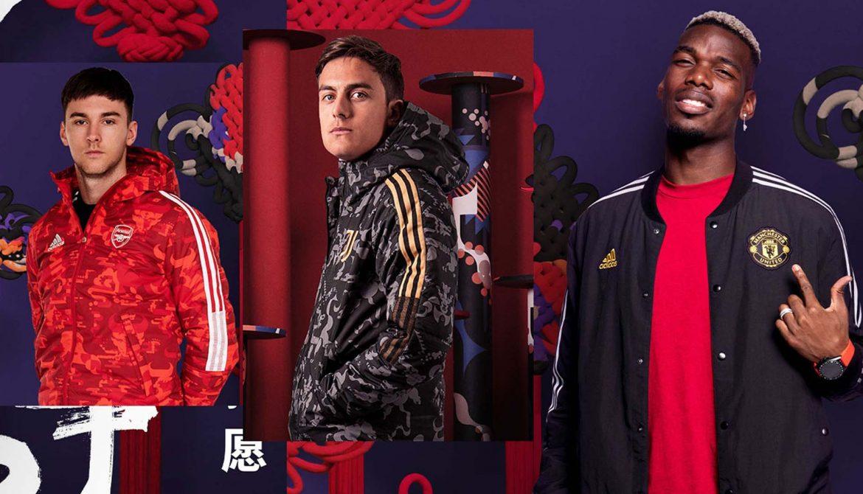 Adidas lança coleção do Ano-Novo Chinês para clubes europeus