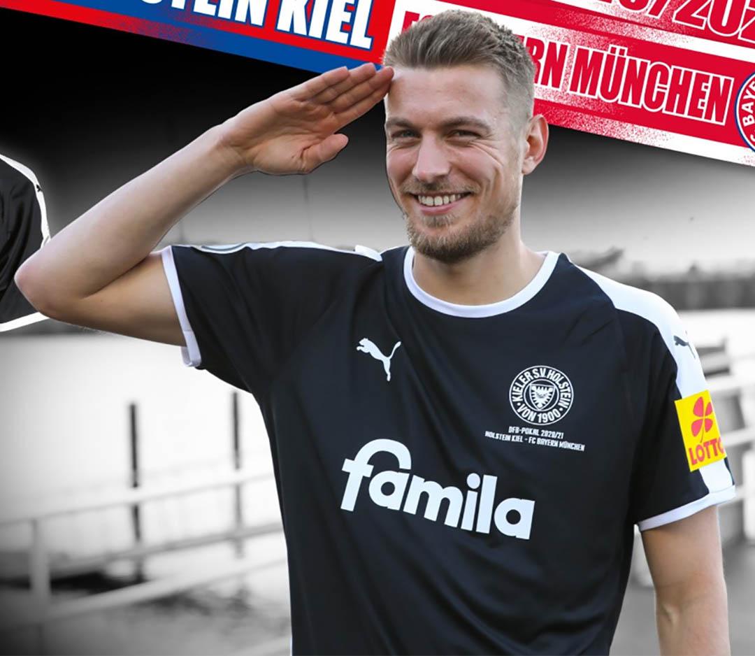 Camisa especial do Holstein Kiel 2021 vs Bayern de Munique PUMA
