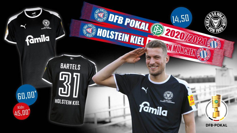 Camisa especial do Holstein Kiel 2021 vs Bayern de Munique PUMA a