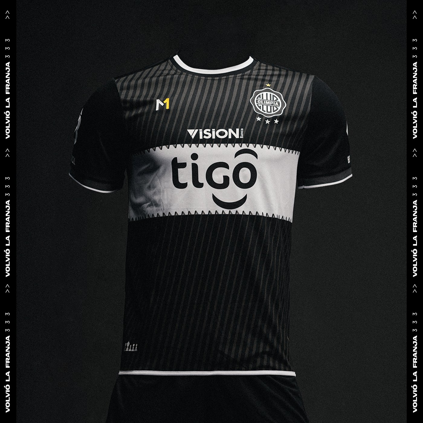 Camisa reserva do Club Olimpia 2021 Meta Sports