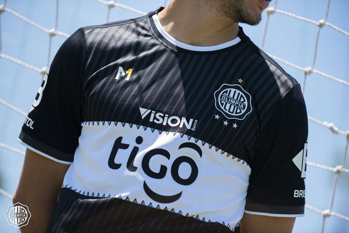 Camisa reserva do Club Olimpia 2021 Meta Sports 6