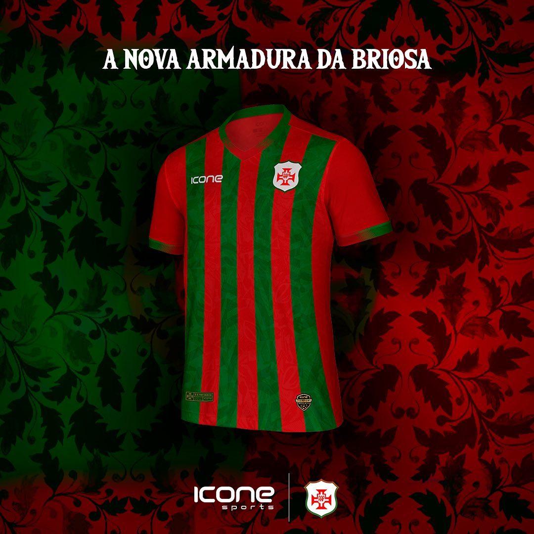 Camisas da Portuguesa Santista 2021 Ícone Sports