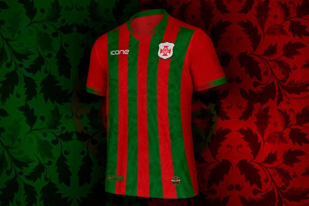 Camisas da Portuguesa Santista 2021 Ícone Sports a