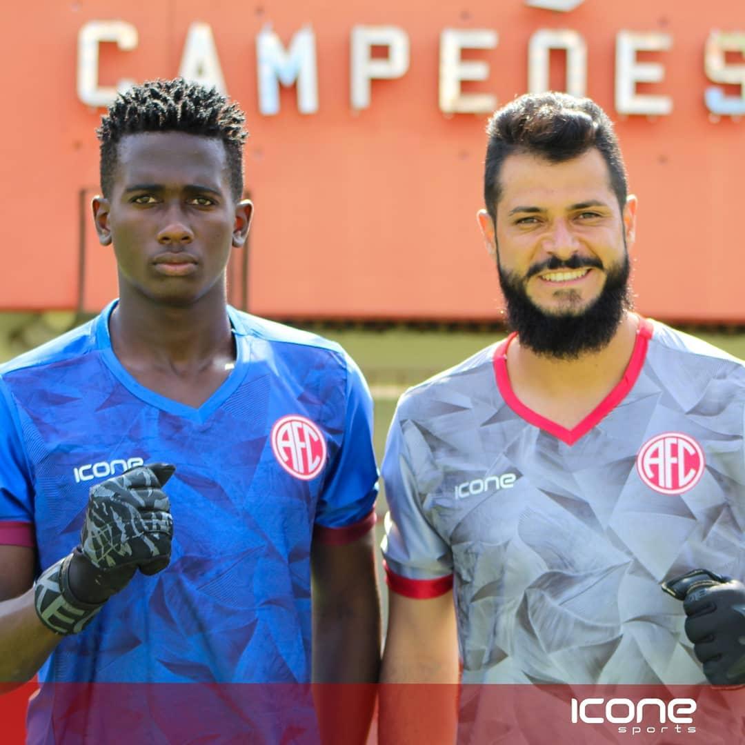 Camisas do América-RJ 2021 Ícone Sports