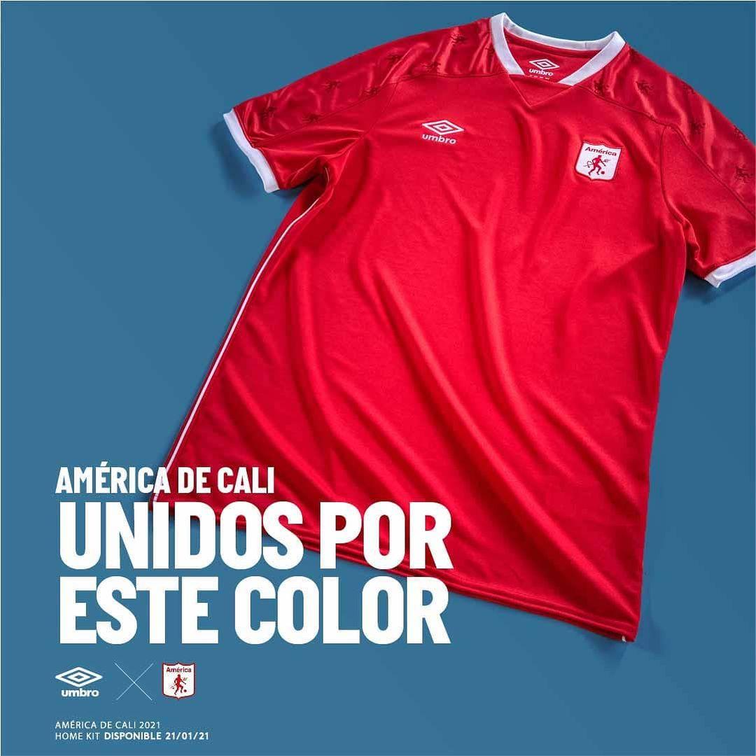 Camisas do América de Cali 2021 Umbro