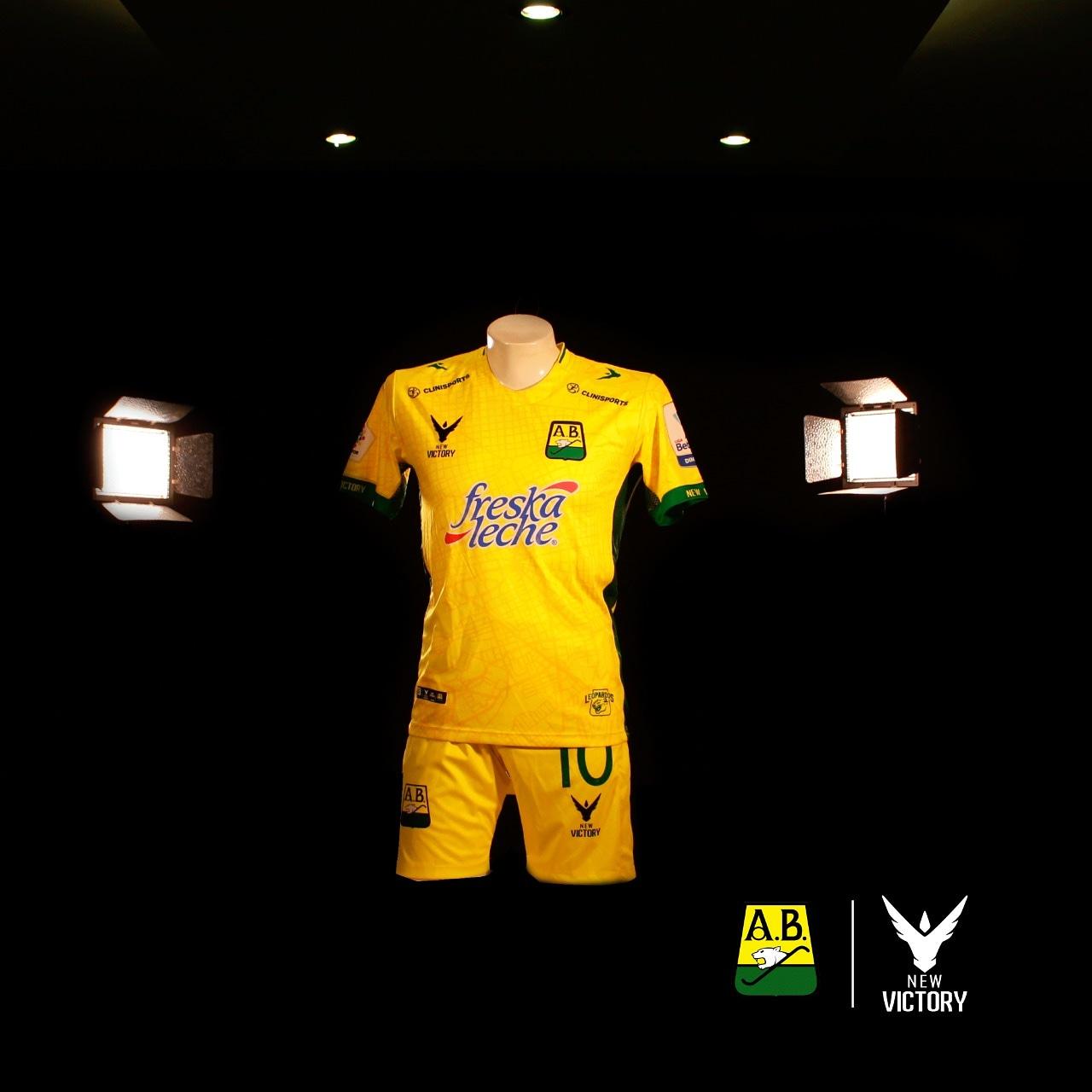 Camisas do Atlético Bucaramanga 2021 New Victory