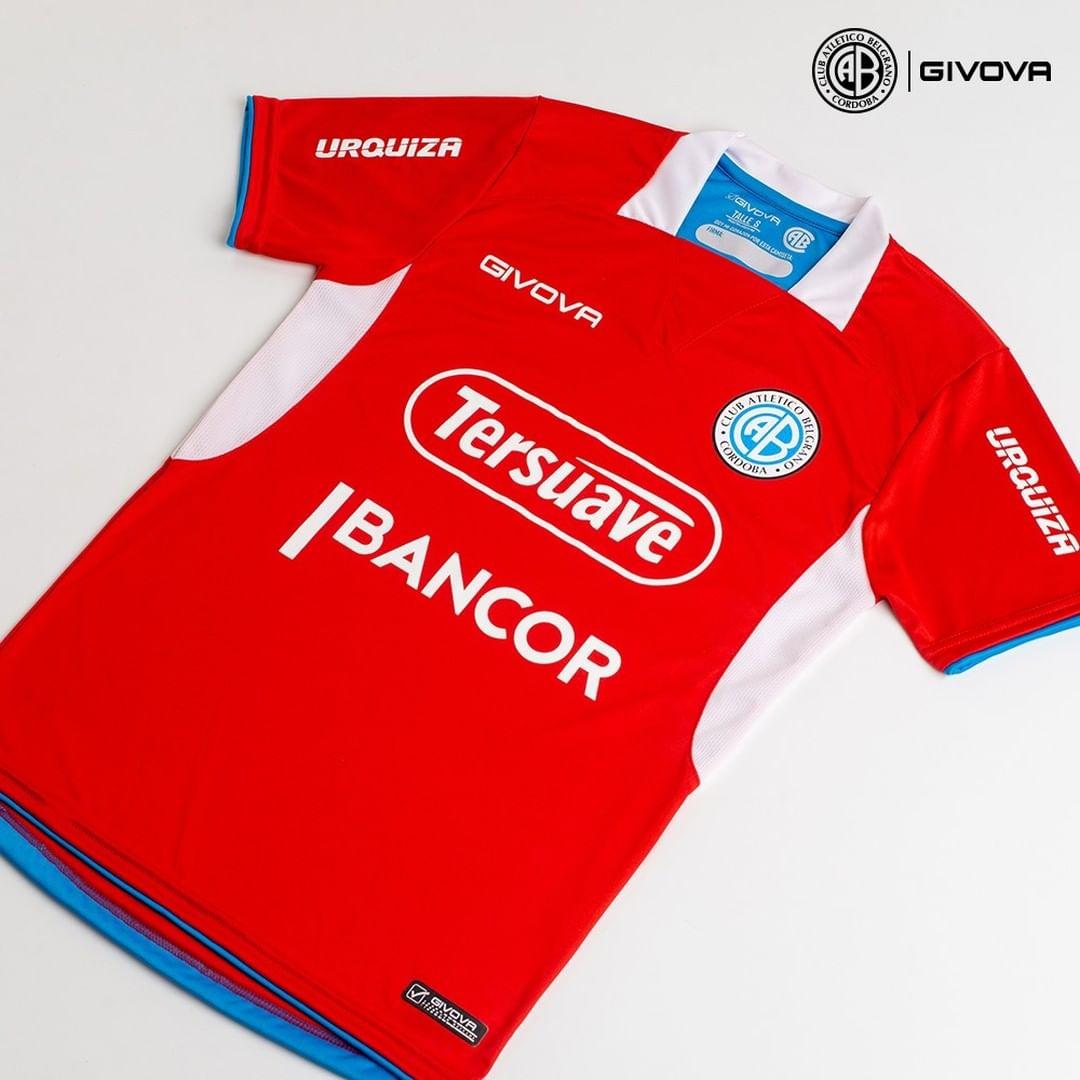 Camisas do CA Belgrano 2021 Givova Reserva kit