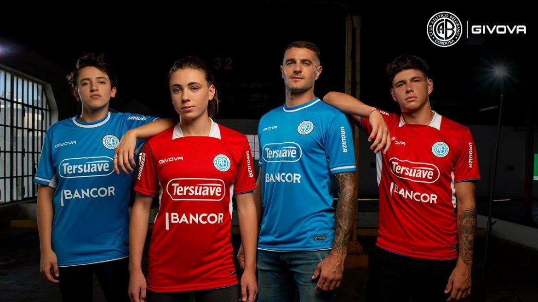 Camisas do CA Belgrano 2021 Givova