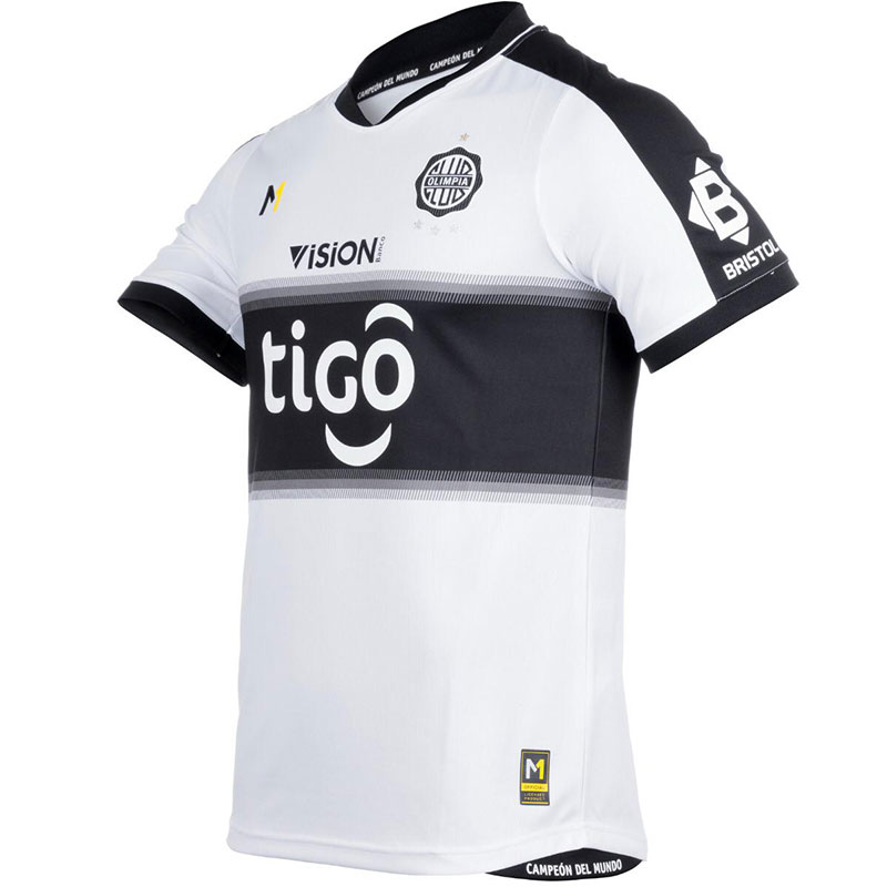 Camisas do Club Olimpia 2021 Meta Sports 1
