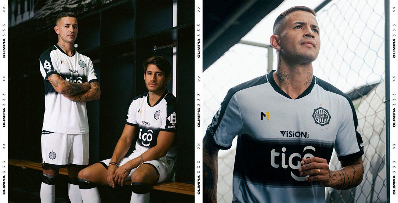 Camisas do Club Olimpia 2021 Meta Sports a