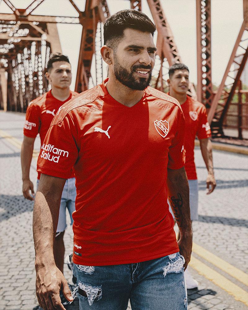 Camisas do Independiente 2021 PUMA Titular