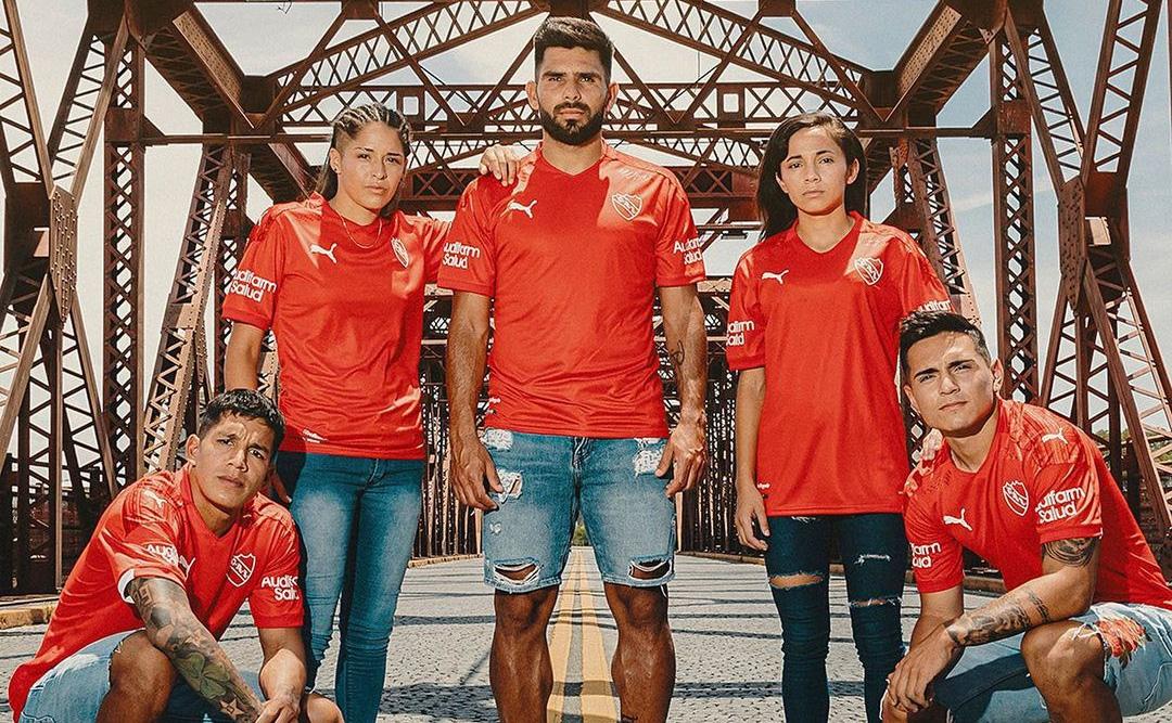 Camisas do Independiente 2021 PUMA a