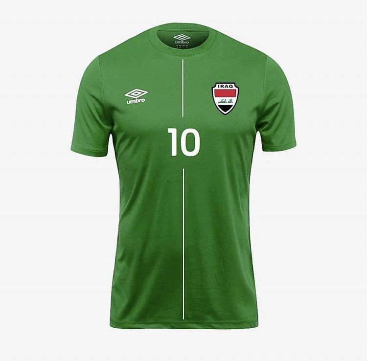 Camisas do Iraque 2021 Umbro
