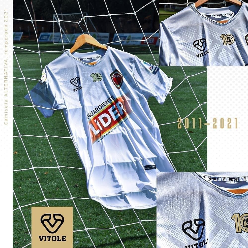Camisas do Patriotas Boyacá 2021 Vitole