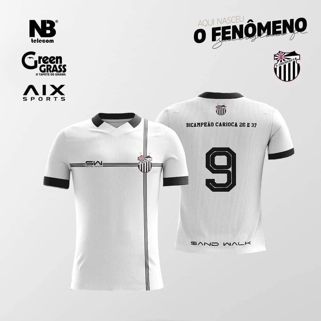 Camisas do São Cristóvão 2020-2021 Sand Walk