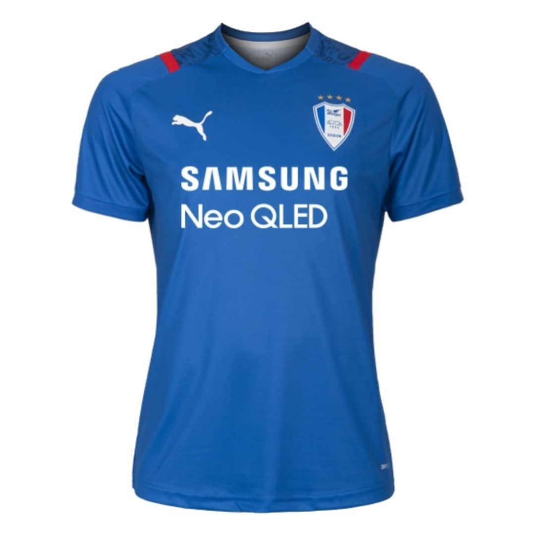 Camisas do Suwon Samsung Bluewings 2021 PUMA