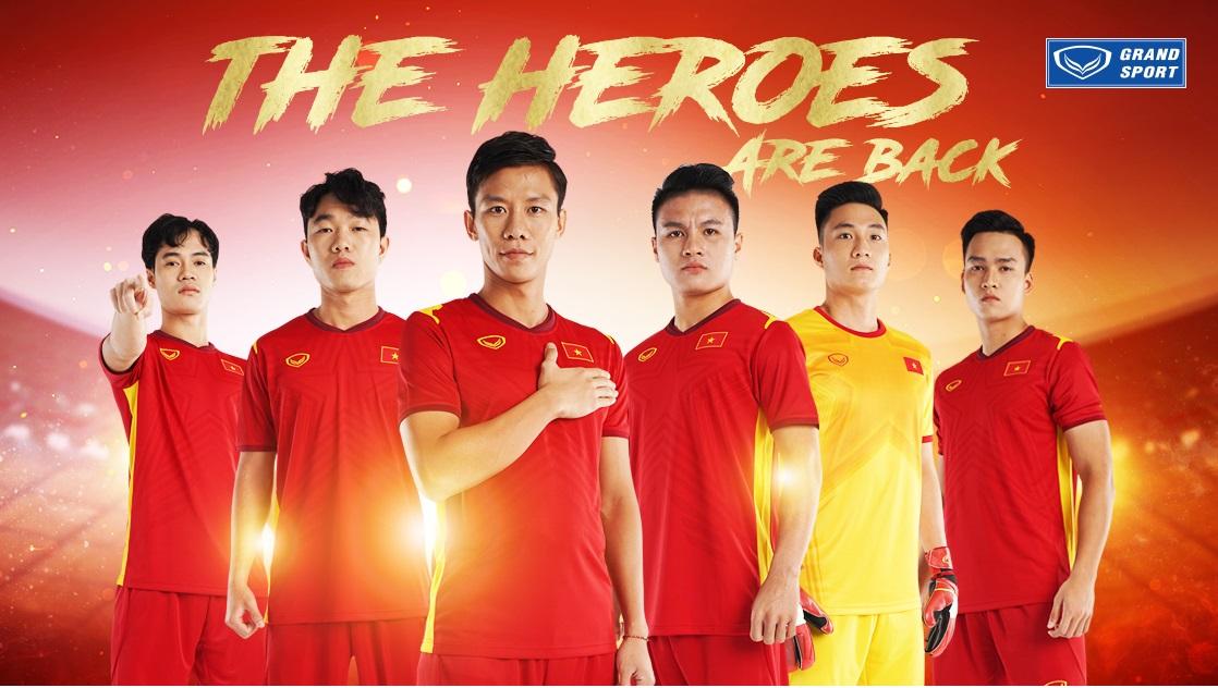Camisas do Vietnã 2021 Grand Sport