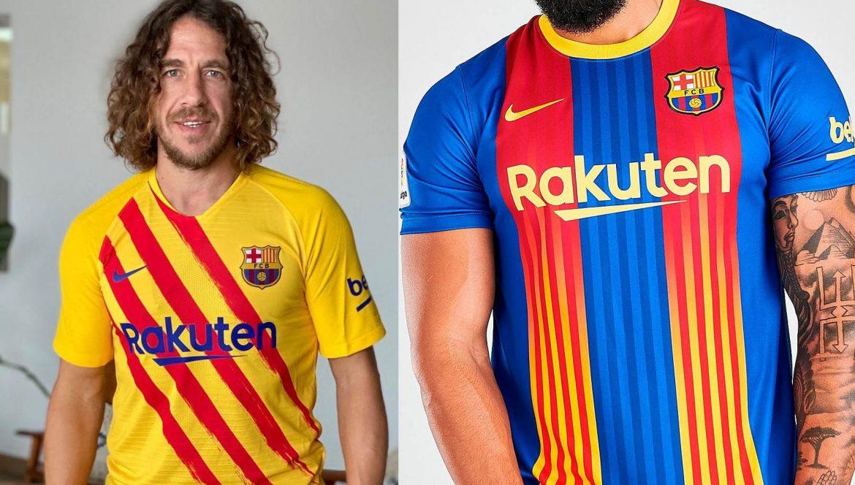 Carles Puyol Barcelona Quinta Camisa 2020-2021