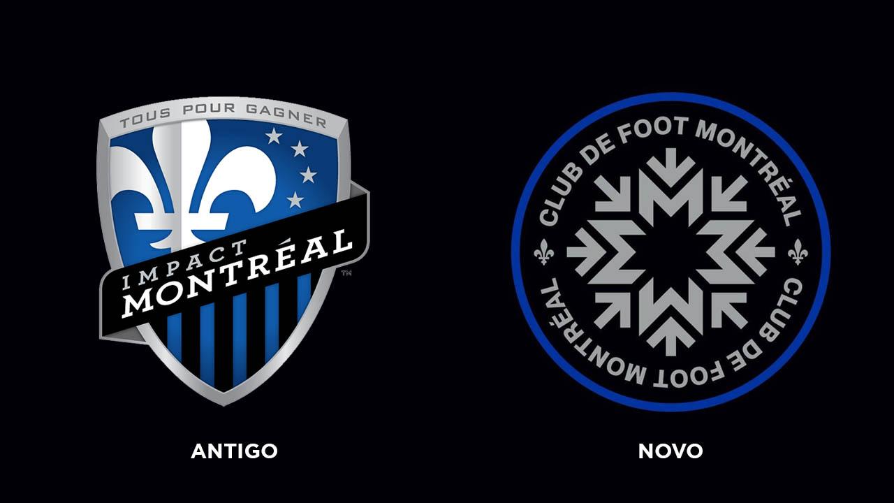 Novo escudo do CF Montréal