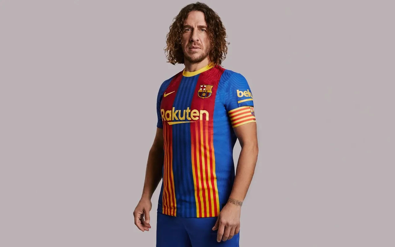 Quinta camisa do FC Barcelona 2021 Nike kit