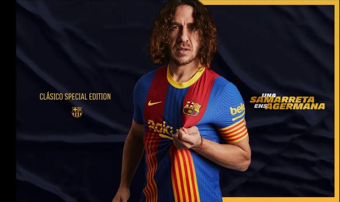 Quinta camisa do FC Barcelona 2021 Nike