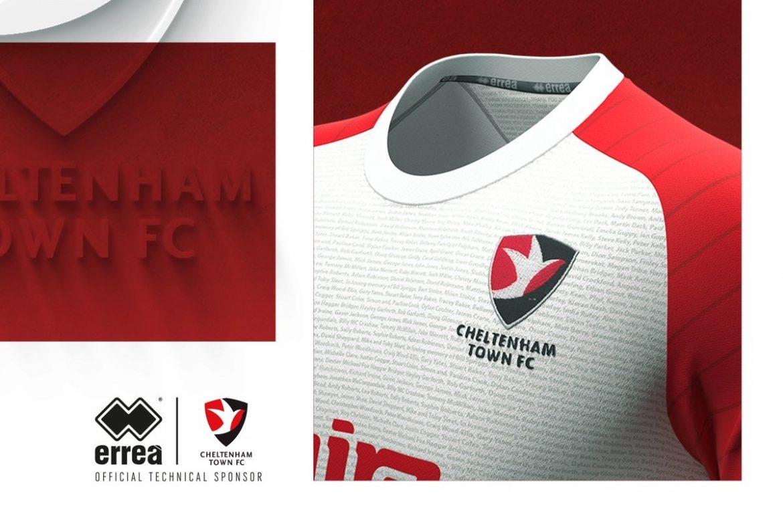 Terceira camisa do Cheltenham Town 2020-2021 Erreà