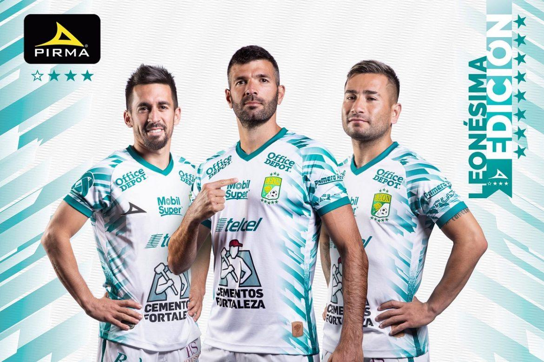 Terceira camisa do Club León 2021 Pirma