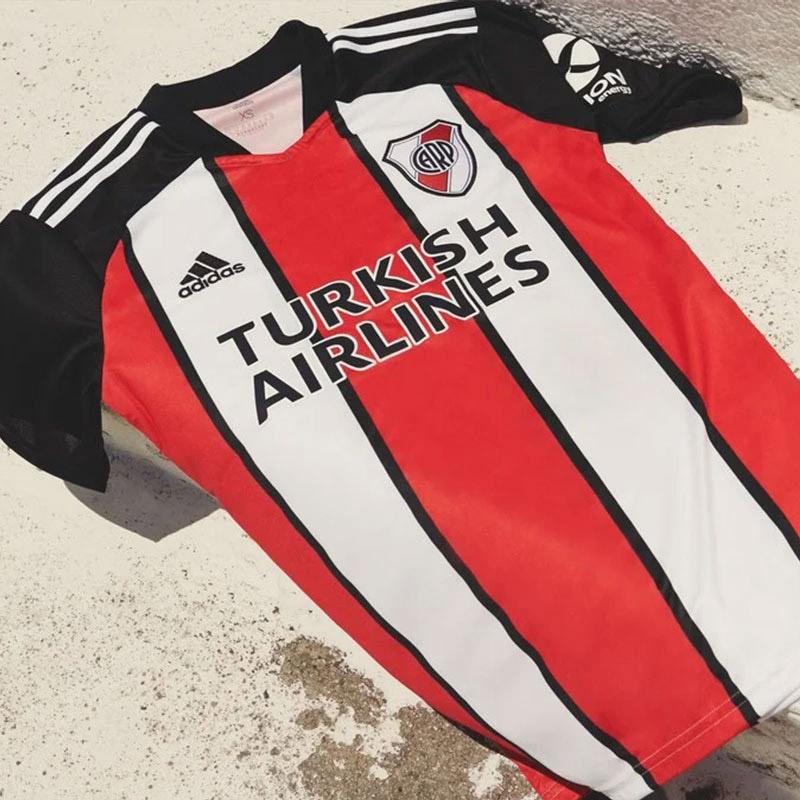 Terceira camisa do River Plate 2021 Adidas 3