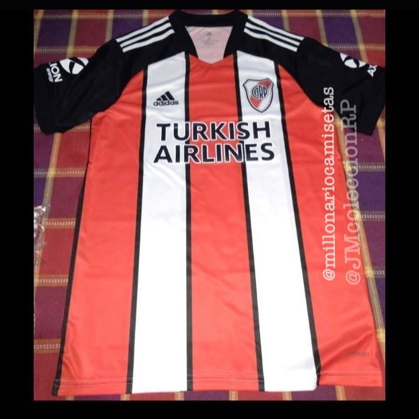 Terceira camisa do River Plate 2021 Adidas