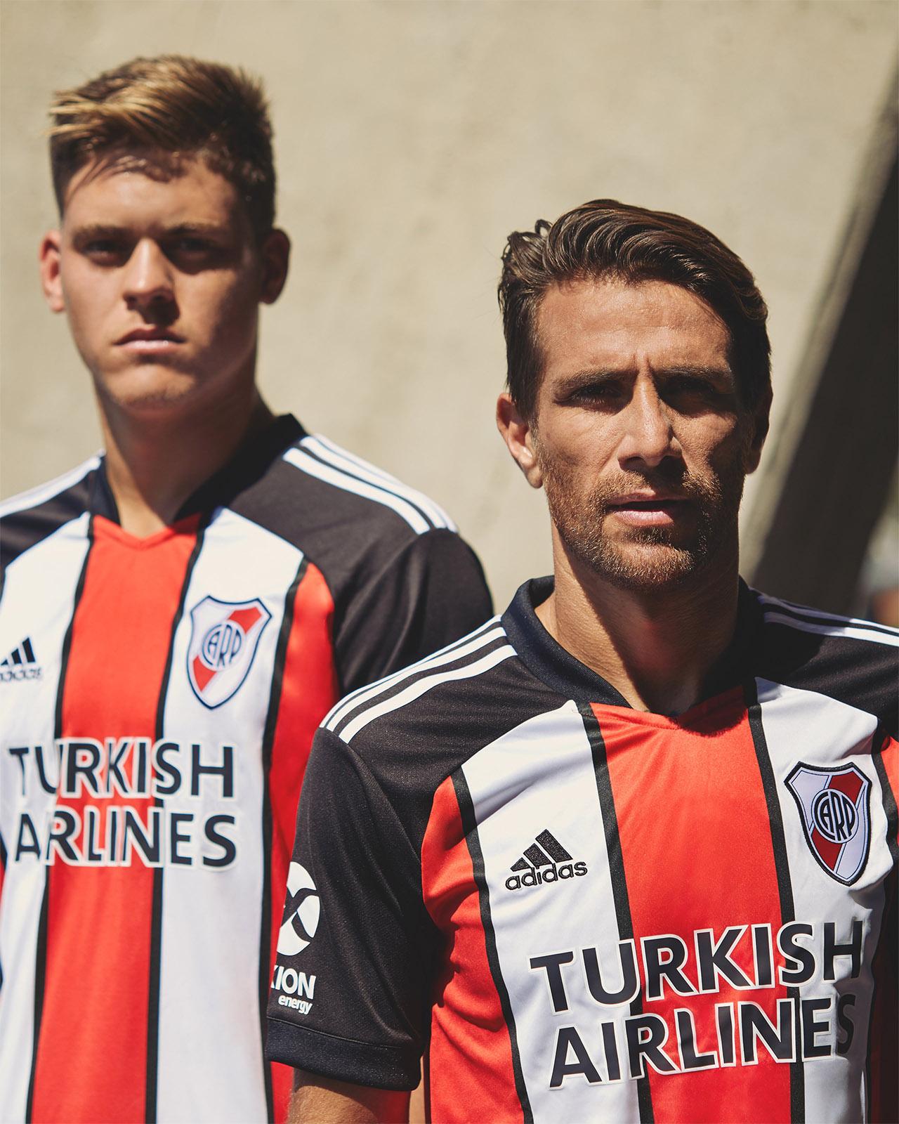 Terceira camisa do River Plate 2021 Adidas