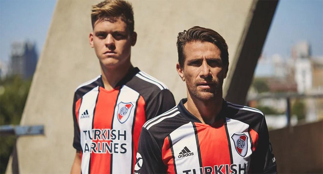 Terceira camisa do River Plate 2021 Adidas a