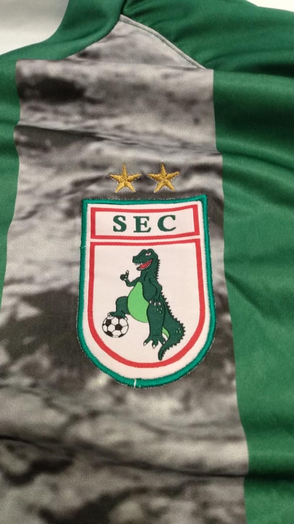 Camisas do Sousa ec 2021 dino