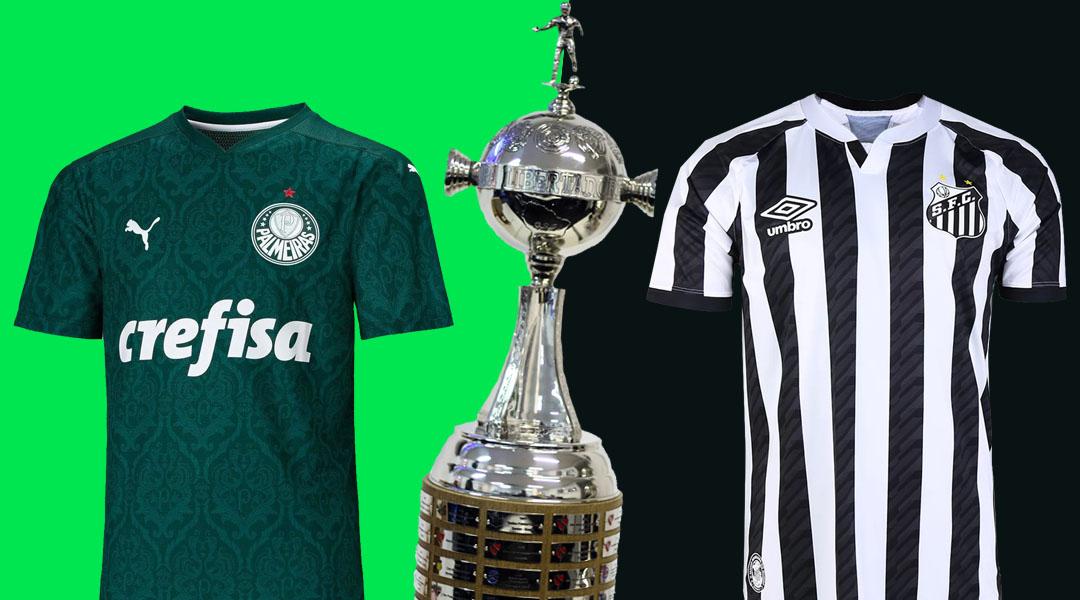 Com Palmeiras x Santos, PUMA e Umbro duelam por título da Libertadores da América. Veja ranking!