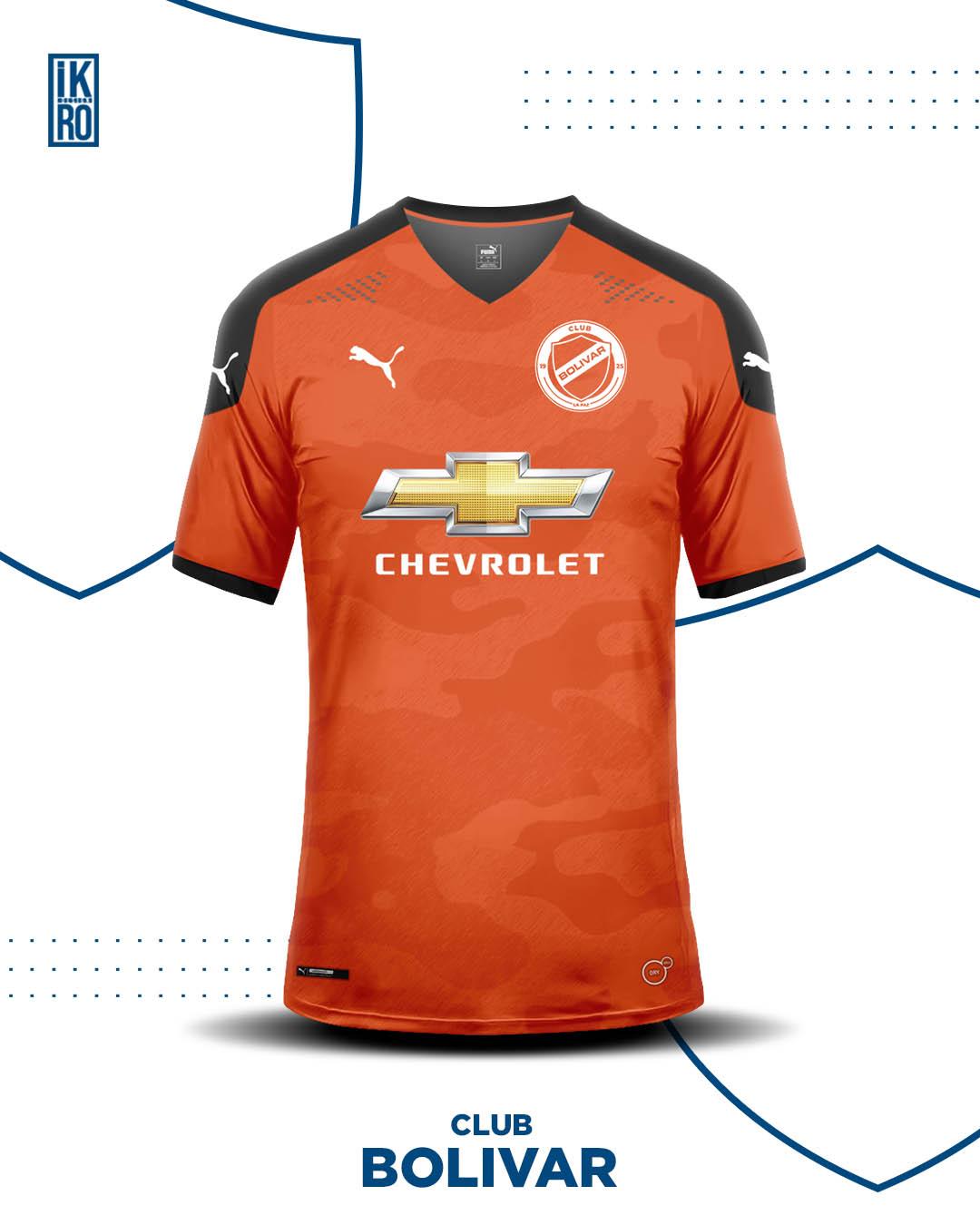 Redesign do escudo + Camisas PUMA do Bolivar (IK-RO Design)