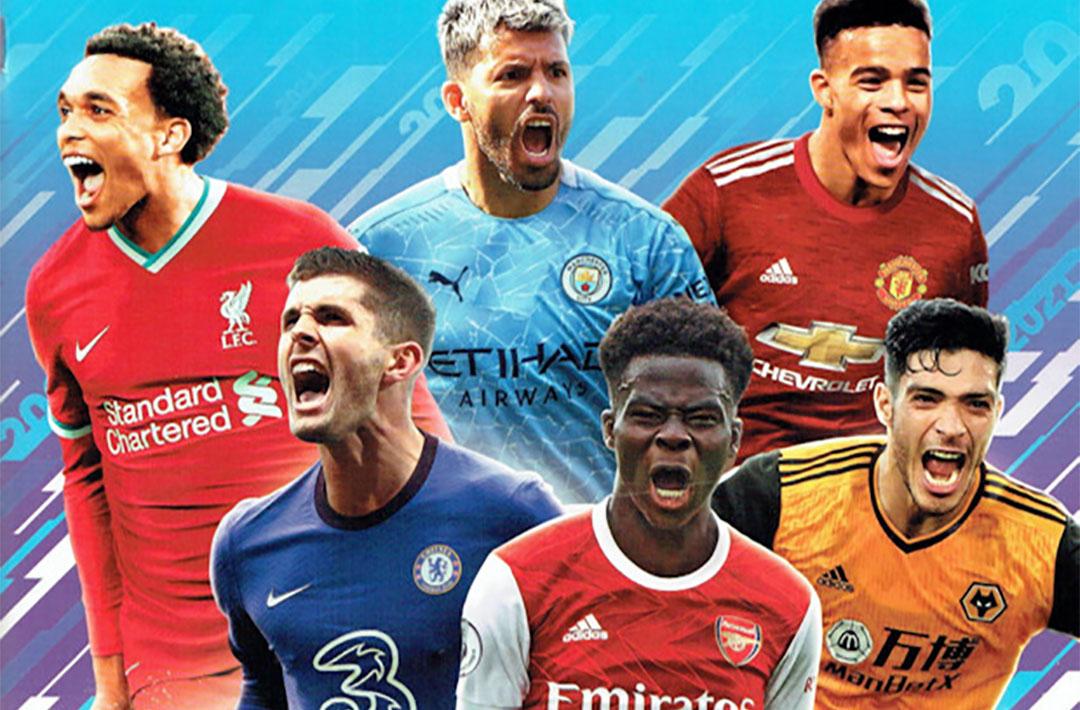 Album de Figurinhas Panini Premier League 2021