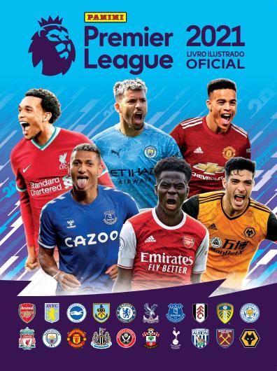 Album de Figurinhas da Panini Premier League 2021