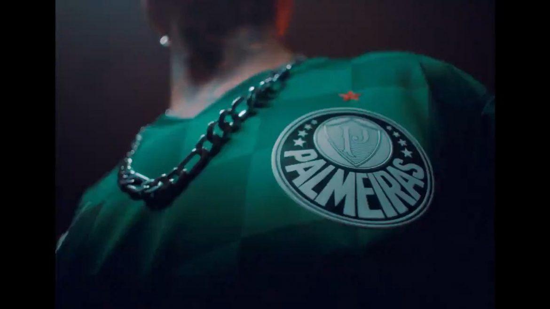 Camisa 2021 Palmeiras xadrez