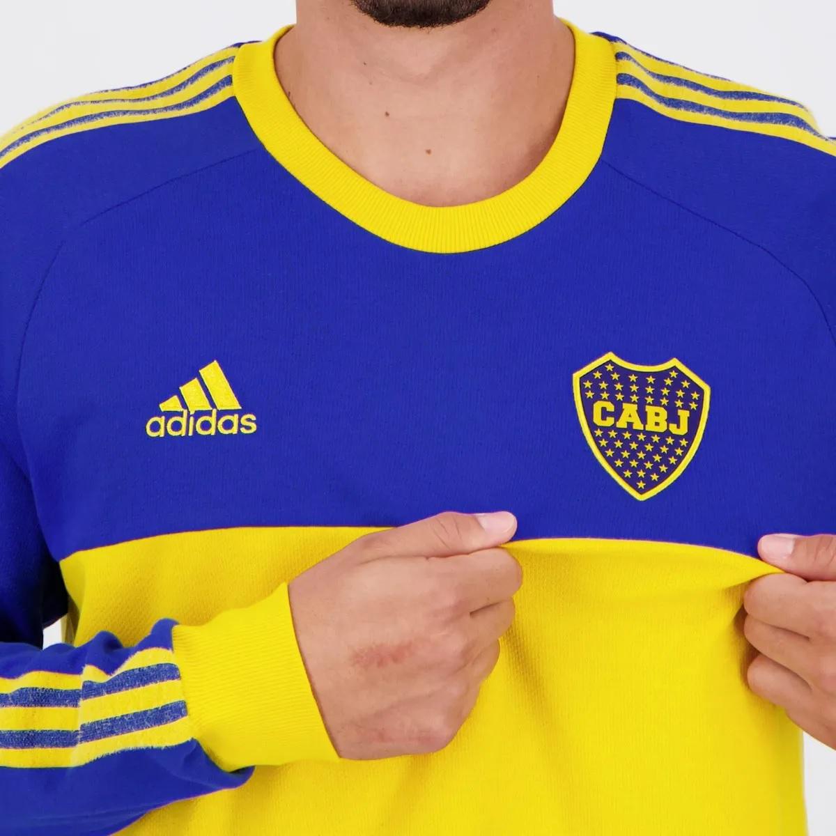 Camisa Icon do Boca Juniors 2021 Adidas