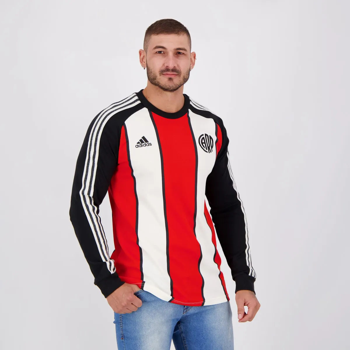 Camisa Icon do River Plate 2021 Adidas