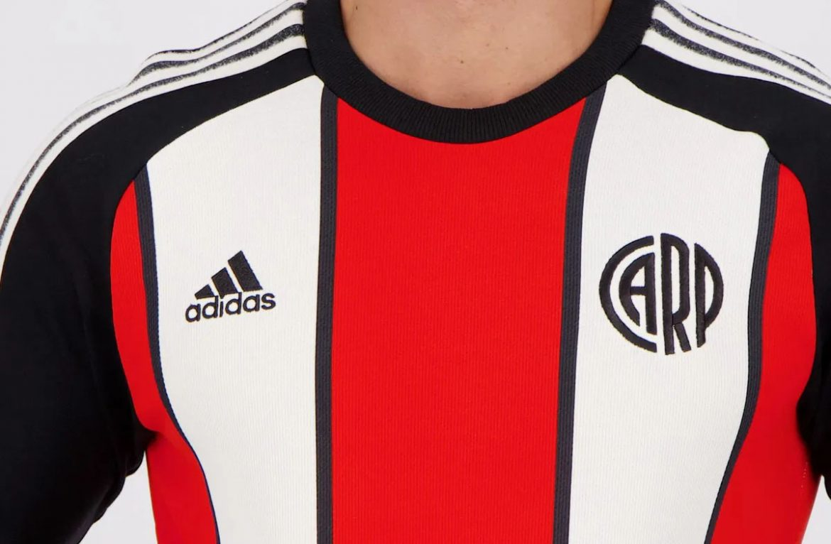 Camisa Icon do River Plate 2021 Adidas a