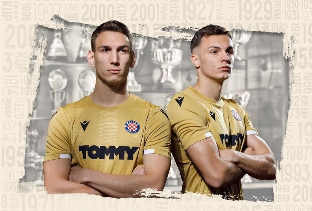 Camisa de 110 anos do Hajduk Split 2021 Macron