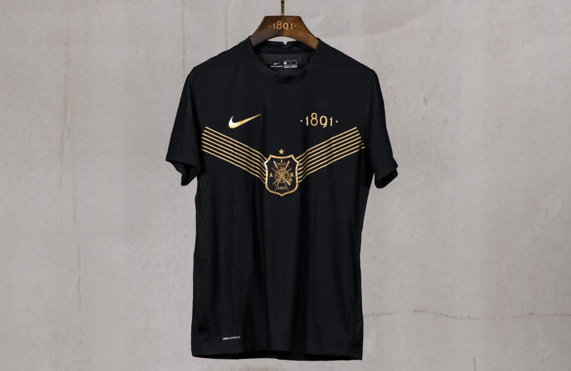Camisa de 130 anos do AIK 2021 Nike