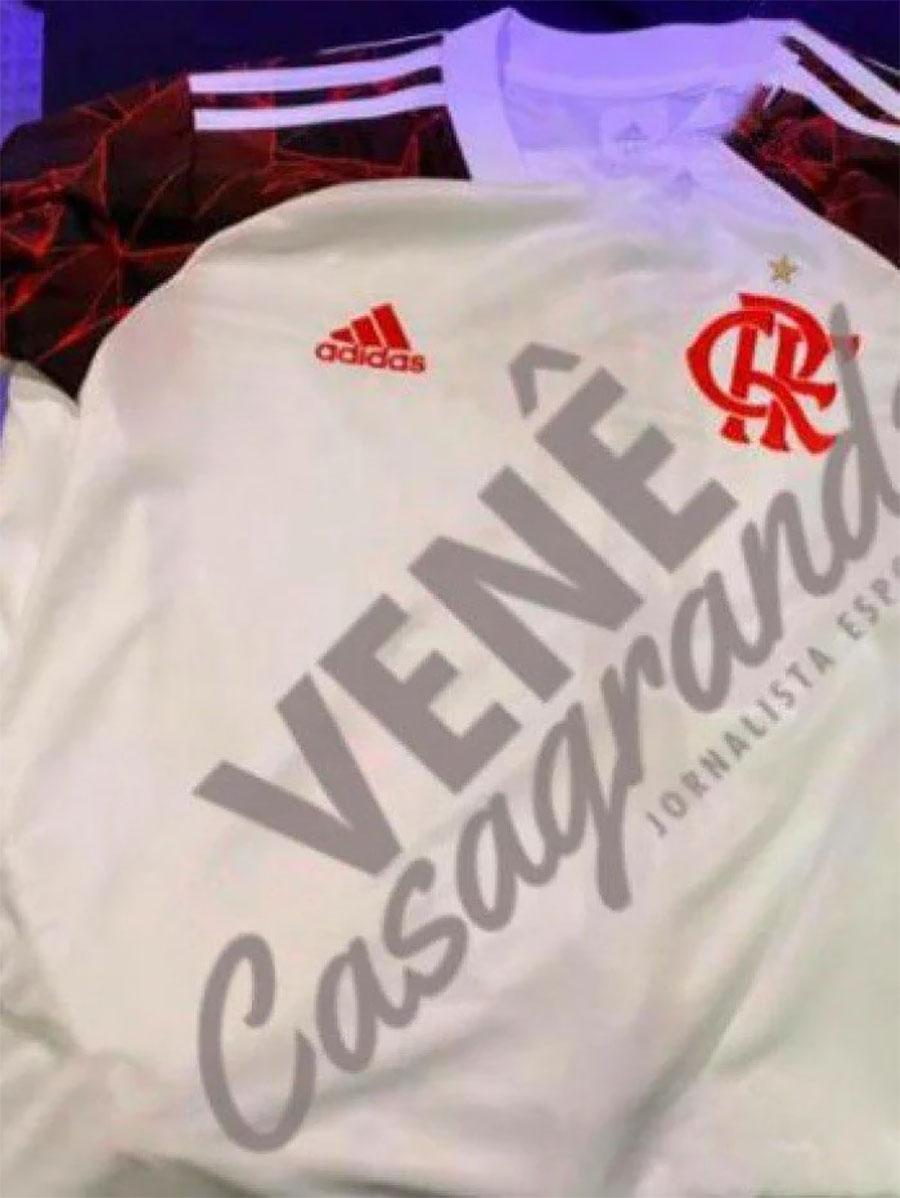 Camisa reserva do Flamengo 2021-2022 Adidas