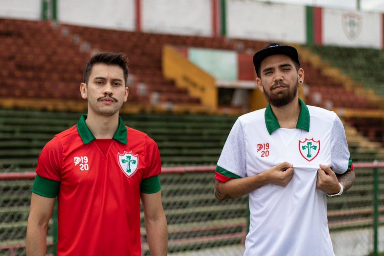 Camisas da Portuguesa 2021 1920 a