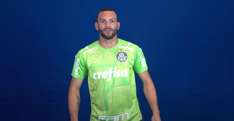 Camisas de goleiro do Palmeiras 2021 PUMA a