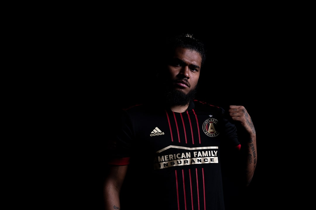 Camisas do Atlanta United 2021 Adidas MLS